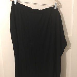 Ava and Viv black jersey pencil skirt